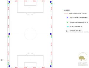 PAISAGEM | rega campo futebol